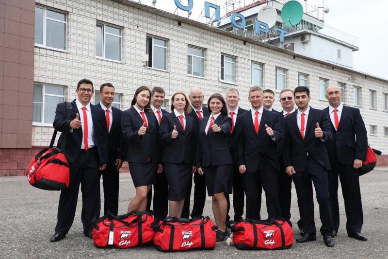 Команда ЛУКОЙЛа «Север» отправилась в Нижний Новгород