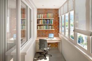 Идеи для закрытого балкона