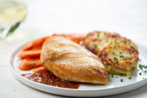 Фаршированная курица по-парижски