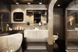 Оригинальные идеи для интерьера ванной комнаты