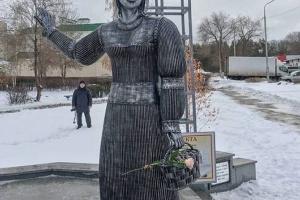 Усинцы во всю в соцсетях обсуждают, что нашли пропавшею жену памятника нефтянику