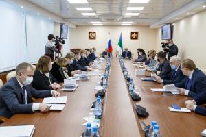 Елена Васильева назначена врио постпреда Коми при президенте России