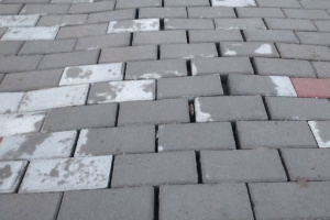 В городе Микунь «поплыл» тротуар