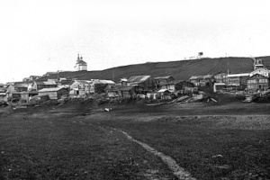 Вид на село Усть-Уса